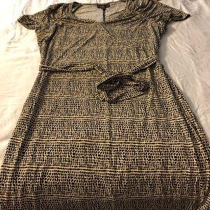 Dana Buchanan faux wrap dress 1x